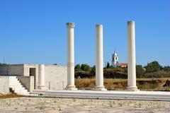 Roman forum of Conimbriga Royalty Free Stock Photo