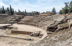 Roman forum of Emerita Augusta Royalty Free Stock Image
