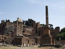 The Roman Forum (Forum Romanum) Royalty Free Stock Images