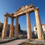 Roman forum gate Stock Images