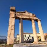 Roman forum gate Stock Images