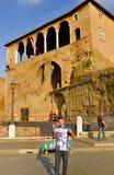 Roman Forum historisk mitt för Rome ` s, Italien Royaltyfria Foton