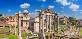 Roman Forum i Rome Fotografering för Bildbyråer