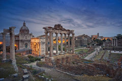 Roman Forum. Stock Photography