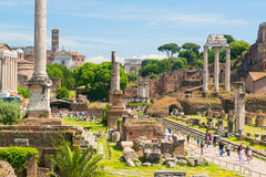 Free Roman Forum In Rome Royalty Free Stock Photography - 41124187