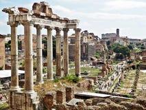 Free Roman Forum In Rome, Italy Royalty Free Stock Photos - 40585978