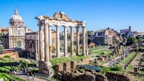 The Roman forum, Italy stock photos