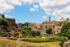 Roman forum, Italy Stock Photos