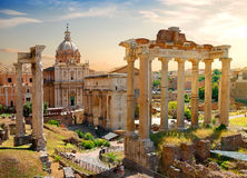 Roman Forum Italy Royalty Free Stock Images