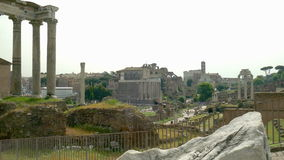Roman Forum stock footage