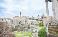 Roman forum museum, Rome, Italy royalty free stock photos