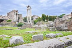 Roman forum museum, Rome, Italy royalty free stock photo