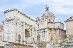 Roman forum museum, Rome, Italy royalty free stock images