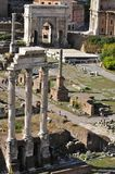 Roman Forum North royaltyfria bilder
