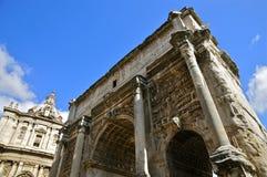 Roman Forum North arkivbild