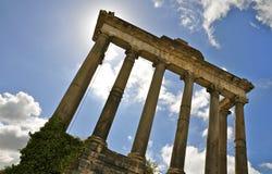 Roman Forum North royaltyfria foton