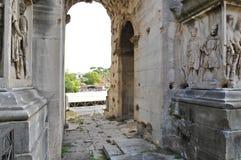 Roman Forum North royaltyfri foto