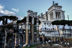Roman Forum Royalty Free Stock Photo