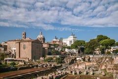 Roman Forum Stock Images