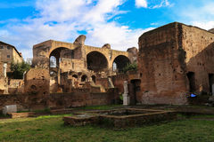 The Roman Forum Royalty Free Stock Images