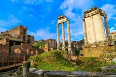 The Roman Forum Royalty Free Stock Photo