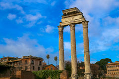 The Roman Forum Stock Image