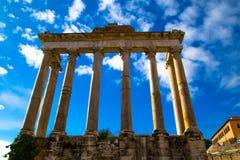 The Roman Forum Stock Photography