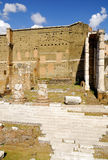Roman Forum, Rom-` s historische Mitte, Italien Lizenzfreie Stockbilder