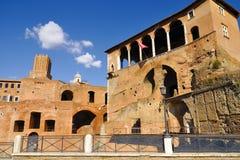 Roman Forum, Rom-` s historische Mitte, Italien Stockbild