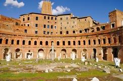 Roman Forum, Rom-` s historische Mitte, Italien Stockfotografie