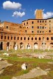 Roman Forum, Rom-` s historische Mitte, Italien Lizenzfreies Stockfoto