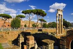 Roman Forum, Rom-` s historische Mitte, Italien Stockfoto