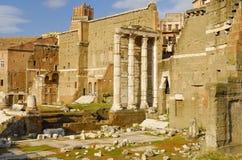 Roman Forum, Rom-` s historische Mitte, Italien Lizenzfreies Stockbild