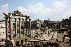 The Roman Forum, Rome Royalty Free Stock Photos