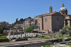 Roman Forum, Rome Stock Image