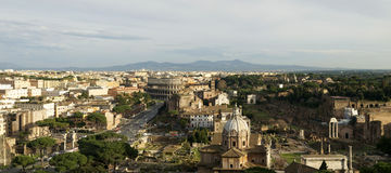 The roman forum ,Rome Royalty Free Stock Photography