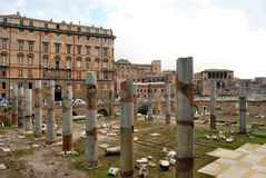 Roman Forum, in Rome Royalty Free Stock Image