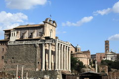 Roman Forum, Rome Royalty Free Stock Photos