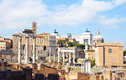 Roman Forum,Rome Royalty Free Stock Photography