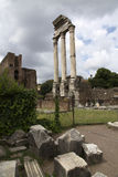 Roman Forum in Rome, Italië Stock Foto