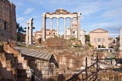 Roman Forum, Rome, Italië Royalty-vrije Stock Afbeeldingen