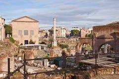 Roman Forum, Rome, Italië Stock Foto