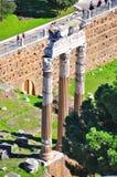 Roman Forum, Rome Italië Stock Foto