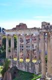Roman Forum, Rome Italië Stock Fotografie