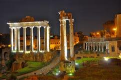 Roman Forum, Rome Italië Royalty-vrije Stock Afbeeldingen