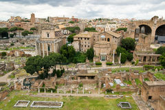 Roman forum in Rome, Italy Stock Photography