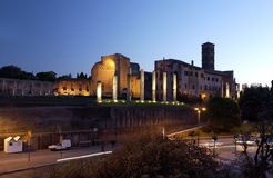 Roman Forum - Rome - Italy Stock Image