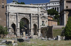 Roman Forum - Rome - Italy Royalty Free Stock Photos