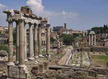 Roman Forum - Rome, Italy Stock Photos