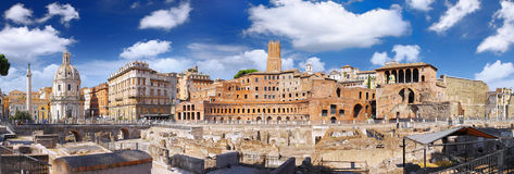 Roman forum in Rome, Italy. Stock Images
